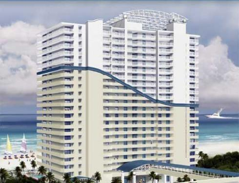Front of Seychelles Oceanfront Condo We Own 3 Condos Here ! - NO JUNK FEES ! WE OWN 16 CONDOS - Panama City Beach - rentals