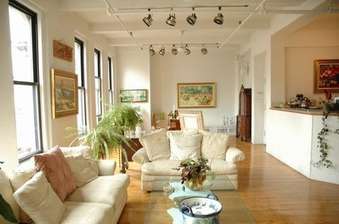 Living Room - HUGE BEAUTIFUL 3000 SQ FT LOFT SPECIAL RATES - Manhattan - rentals