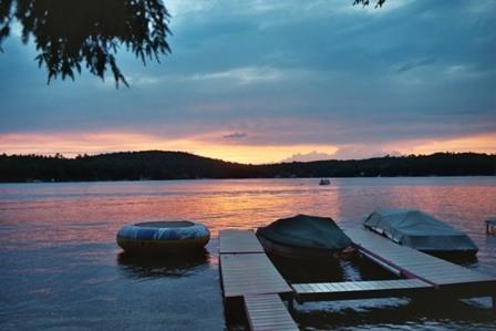 Sunsets are beautiful.. - The Cottage at Lake Monomonac - Rindge - rentals