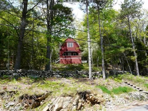 View from water - Coastal Maine Cottage with Four Bedrooms - West Bath - rentals