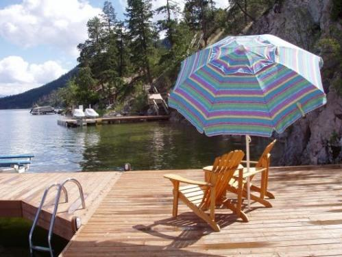 Lakefront Okanagan Vacation Home Dock & Boat lift - Image 1 - Kelowna - rentals