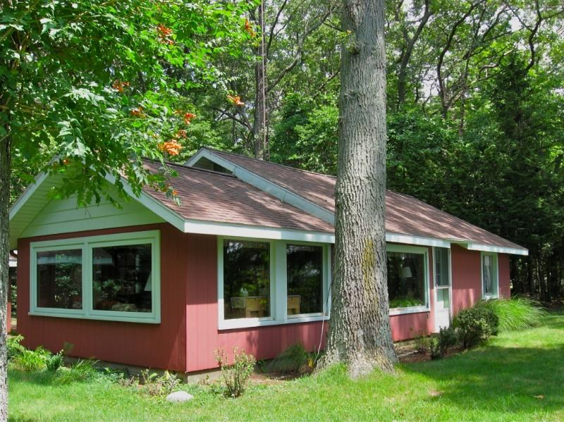Front of Cabin - Cabin on White Lake - Montague - rentals