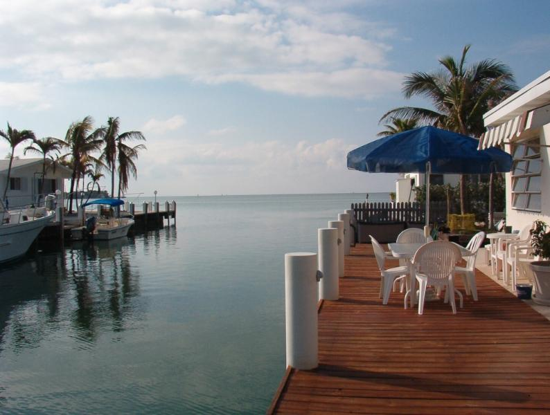 View from the dock - Kick back at Castaway - Marathon - rentals