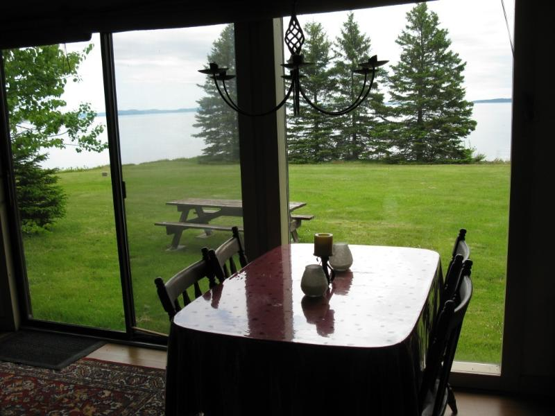 view of bay from cabin - Rustic Housekeeping Cabin on Passamaquoddy Bay - Perry - rentals