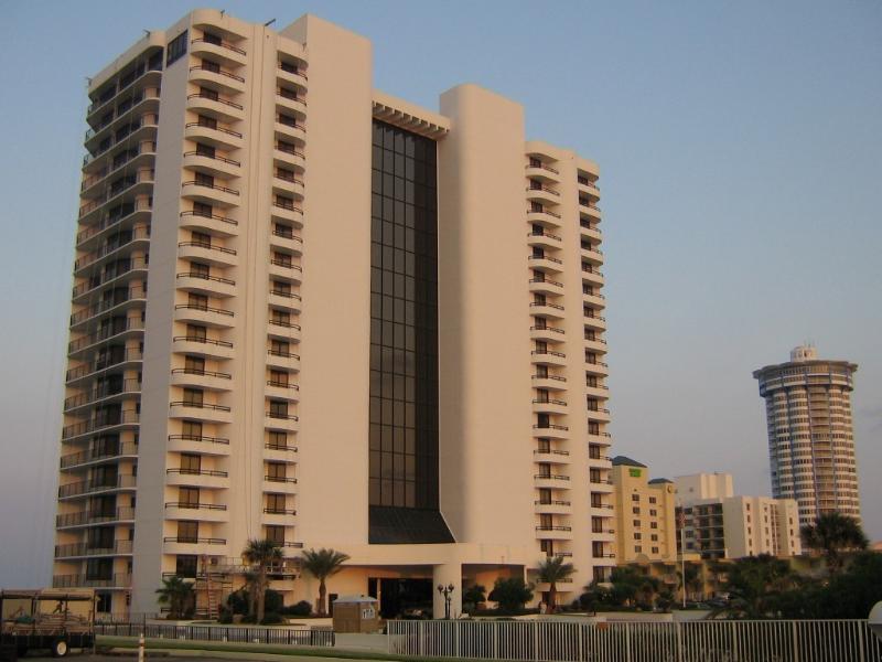 Condo Front - Luxury Oceanfront 2 Bedroom Condo - Daytona Beach Shores - rentals