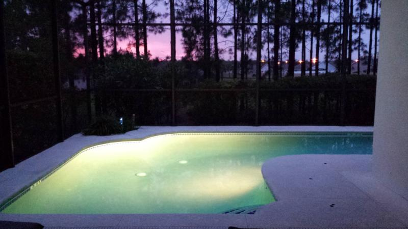 PRIVATE POOL AND SPA AT SUNSET - Sunset Villa - Private West Facing Pool and Spa - Davenport - rentals