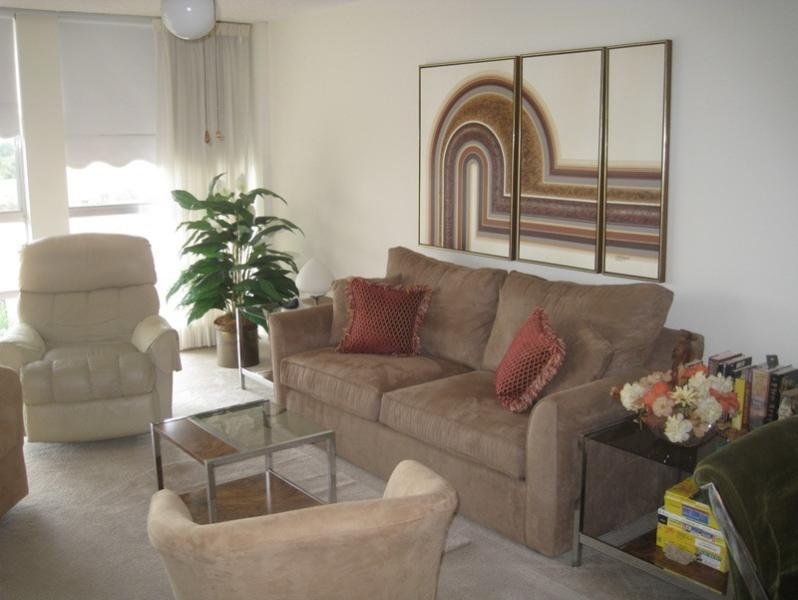 Living Room Area - Pied-a-terre in FL for $1960 monthly or read insid - Hallandale - rentals