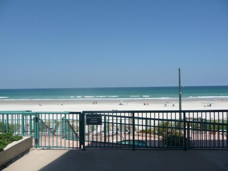 View from Condo - Oceanfront Condo in Beautiful Ponce Inlet - Ponce Inlet - rentals