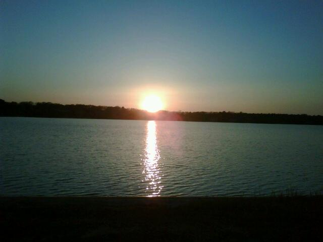 View of the Sunset from Private Members Only Beach on John's Pond - Lovely Waterview Home - Mashpee - rentals