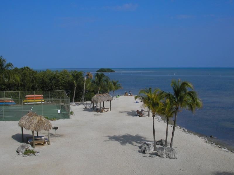 View from Balcony - Ocean Front 2 Bedroom Condo in Islamorda, FL - Tavernier - rentals