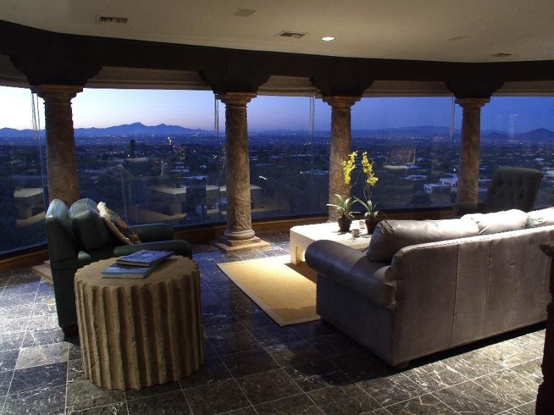 Solarium - Gated Private Estate with Heated Pool & Views - Tucson - rentals