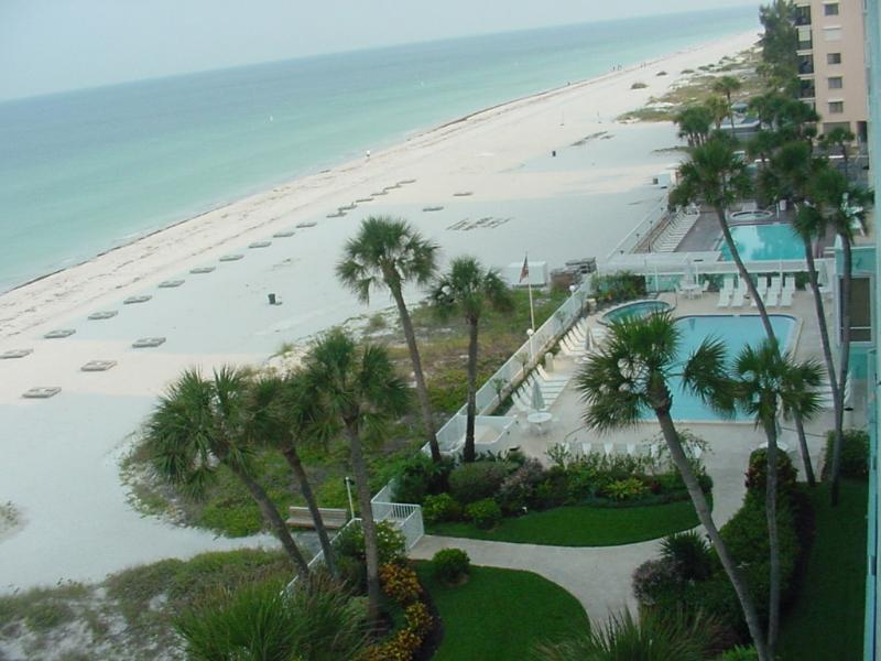 View from the Balcony - Gulf-Front Condo -- Water views from every room! - Indian Rocks Beach - rentals