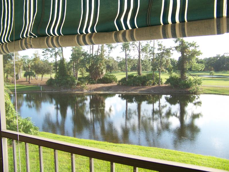 Lanai views of Eagles, fish and nature - Golf Course Condo with view of fairways and golf - Naples - rentals