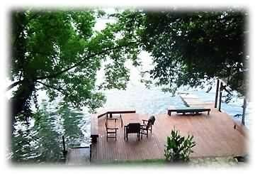 Lower deck - Waterfront with Kayaks, slide, mulitple decks, Fun - Austin - rentals