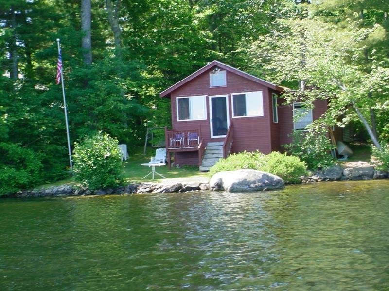CampRedwing waterfront - ON THE WATER. PANTHER POND, RAYMOND, MAINE - Raymond - rentals