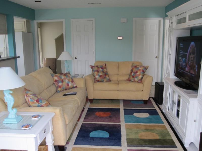 Living Room - Tropical Island Getaway - Stroll 1 Block to Beach - Fernandina Beach - rentals