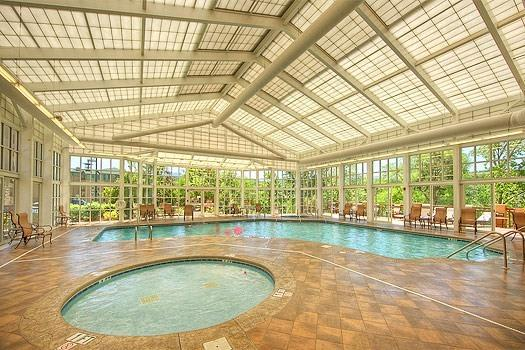 Indoor Pool for Adults and Children - 2 bedroom condo at Riverstone 3rd blding - Pigeon Forge - rentals