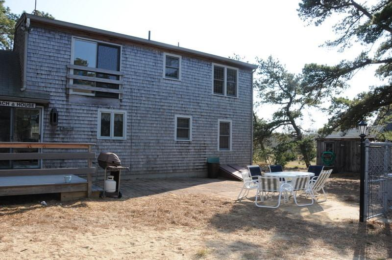 Back of the house, main entrance - Cape House Perfect for One or Two Families!! - Wellfleet - rentals