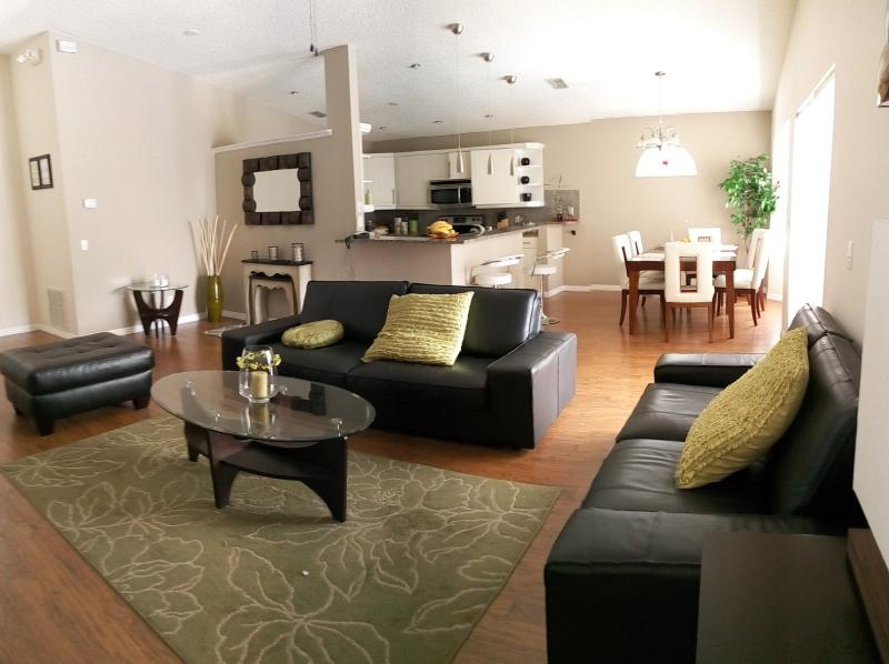 Living Room - villa design at ten minutes from disney - Kissimmee - rentals