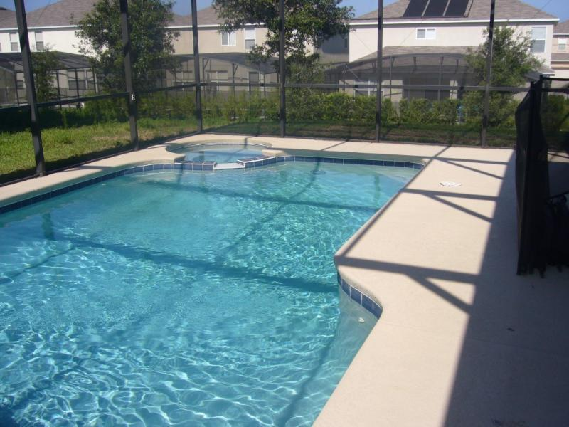 Swiming Pool & Spa - Luxury 6 BRs Disney Vacation Villa with Pool/SPA - Davenport - rentals