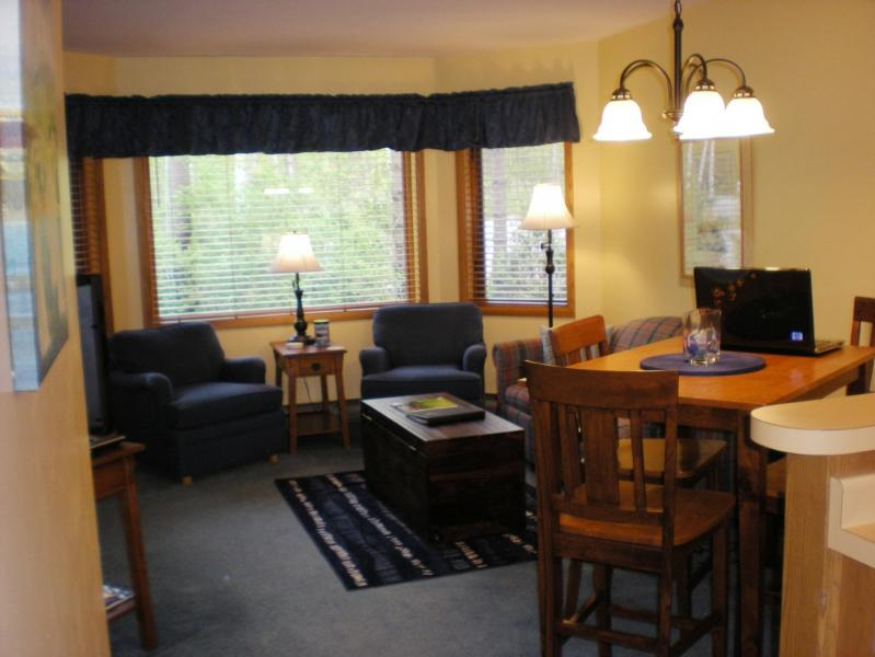 Comfortable Dining and Living Room Area - Great Condo-Priced Right, Last Minute Bookings - Egg Harbor - rentals