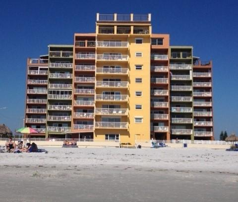 OCEANFRONT AND RENOVATED AT HOLIDAY VILLAS III - Image 1 - Indian Shores - rentals