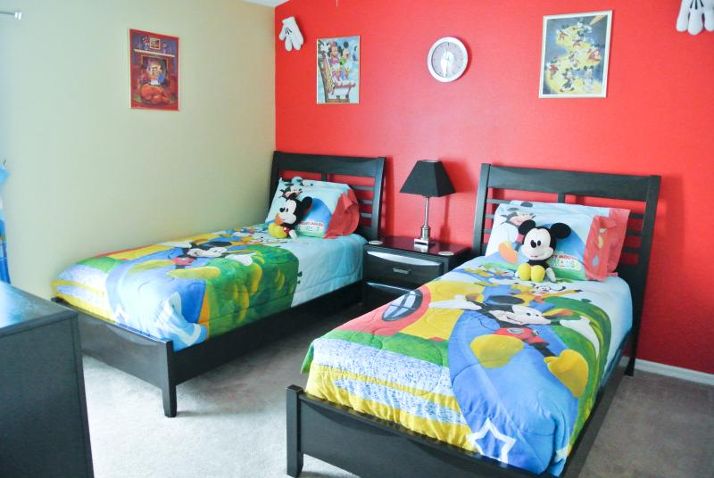 The Disney bedroom - Paradise House - Five Star Rated Villa - Kissimmee - rentals