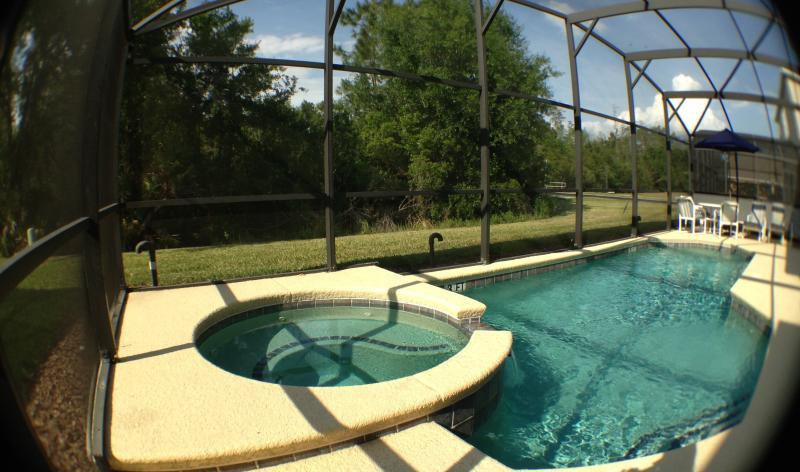 Spacious pool and spa - Terra Verde Resort 6 bedroom villa + Pool/Spa. - Kissimmee - rentals