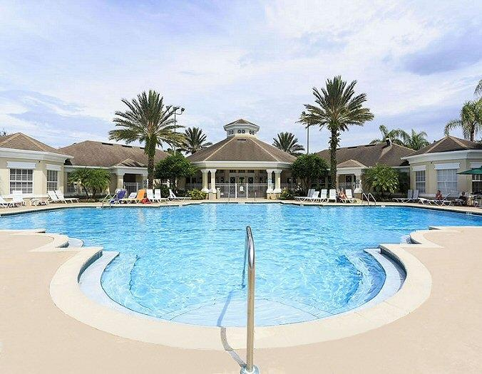 Windsor Palms Resort pool and clubhouse - Dynamite Disney Luxury Condo! Stylish & Comfy! - Four Corners - rentals