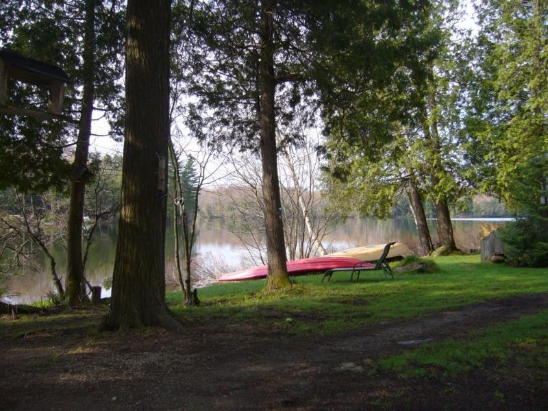 small, cosy and rustic lakefront cabin for rent - Image 1 - East Bolton - rentals