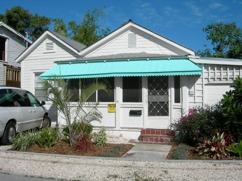 Front of House - Duncan House - Monthly Only - Key West - rentals