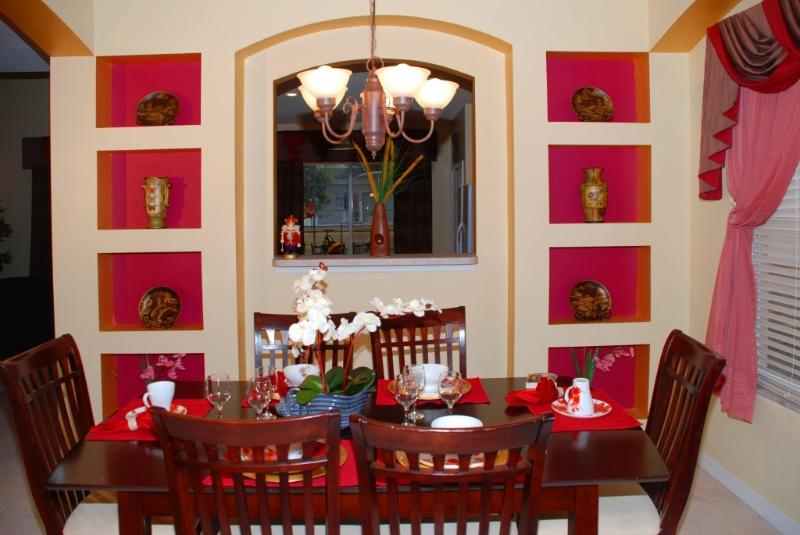 Dinning Area - Fall Special !! Up to 20 ppl - 7BR(4 King)/5.5BA-3miles to Disney - Kissimmee - rentals