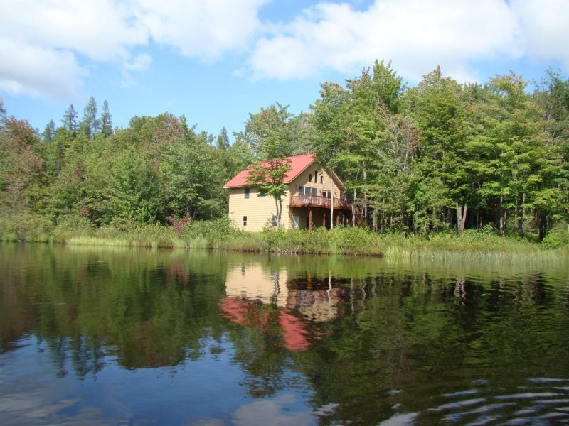lakefront cabin, snowmobiling, atving and skiing - Image 1 - Upson - rentals