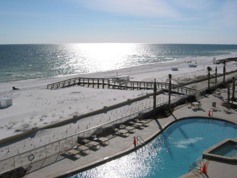 View from the balcony - Condo in Ft Walton Bch Ocean View - Fort Walton Beach - rentals