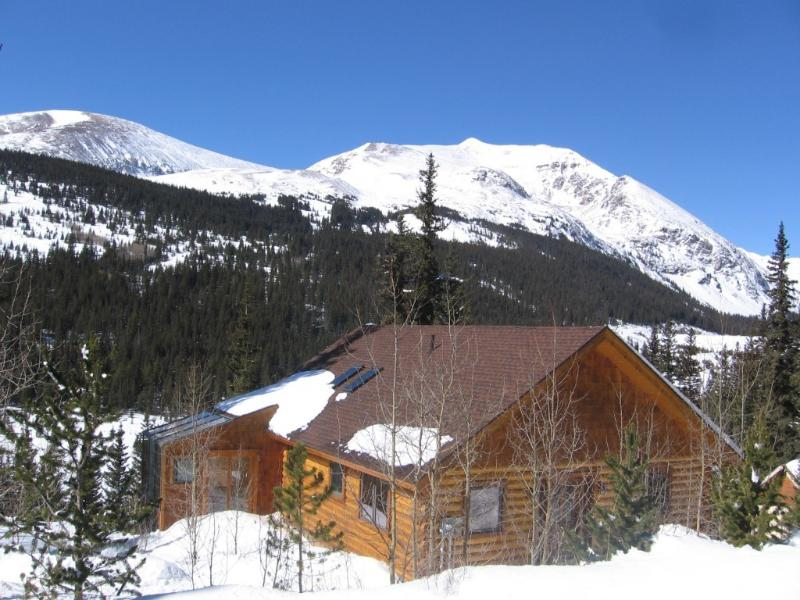 Gorgeous views,peaceful home with babbling brook - Aspen View Beautiful Log Home - Blue River - rentals