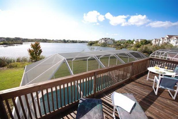 Enjoy spectacular views from your own balcony - Lake Front Villa Near Disney - Great Balcony Views - Davenport - rentals