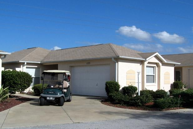 Street view - Courtyard Villa, 2BR/2BTH w/Golf Cart, Pets OK - The Villages - rentals