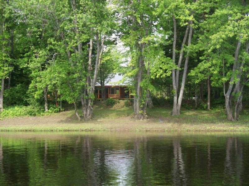 riverfrontage in june - Penobscot Riverfront Cabin Rental - Mattawamkeag - rentals