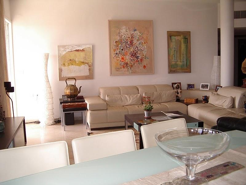 living room/dining - The best in Ramat Poleg - Ir Yamim - Netanya - rentals