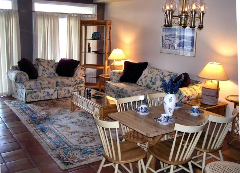 Living Room Area - 5 Blocks to the Beach -  sleeps 9 - Rehoboth Beach - rentals