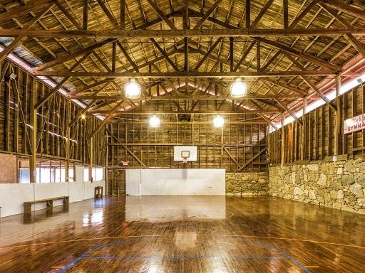 Historic Gymnasium - Oldest in America! - THE CAMP: Private Estate,Heated Pool/Slide,Tennis! - Gerton - rentals