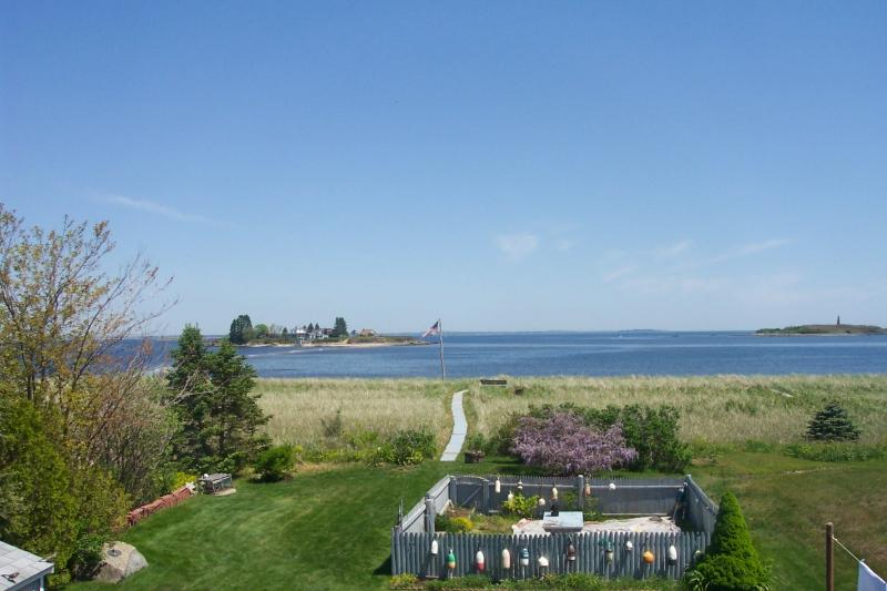 Magnificent View from 2nd floor window - Beach House on Hills Beach in Biddeford 3 BR 2 BA - Biddeford - rentals