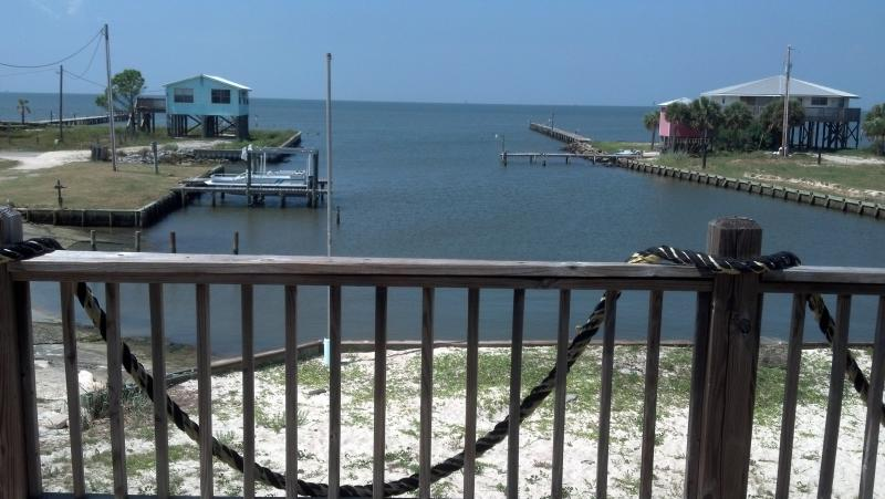 Front Deck View - Baycation Ft Morgan-Kayak-Waterfront - Fort Morgan - rentals