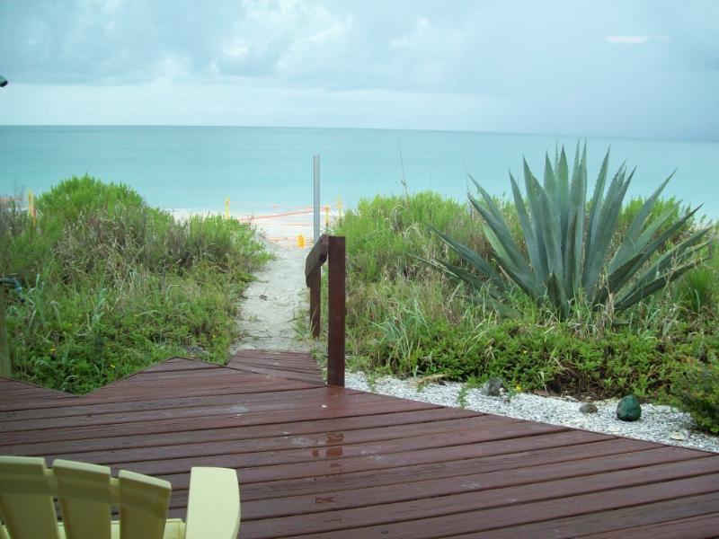Your back door.... - DIRECT BEACH FRONT HOME on MANASOTA KEY - Manasota Key - rentals