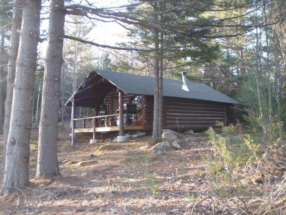 Secluded at the end of the ridge, under the tall pines - Secluded Rustic Log Cabin-HUGE mountain views! - Andover - rentals