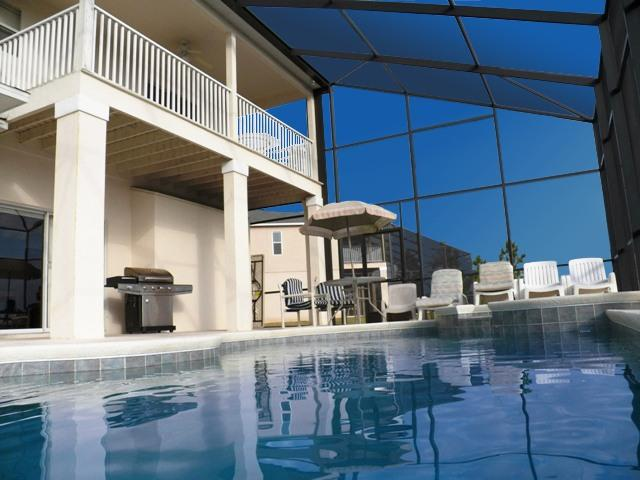 Balcony Pool&SPA, BBQ, Patio - From 1040/wk,7BR/4BA,Pool/SPA,Balcony,GasBBQ,Gated - Davenport - rentals