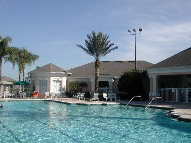 Large heated pool and jacuzzi - Spacious modern 3 bed 3 bath home with hot tub at Windsor Palms near DISNEY - Four Corners - rentals
