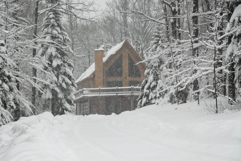 The house after a snow storm! - Beautiful Okemo chalet with Hot Tub - Ludlow - rentals