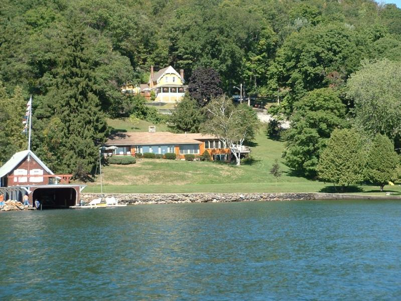 View of both homes - Beautiful lake front home on Lake George - - Ticonderoga - rentals