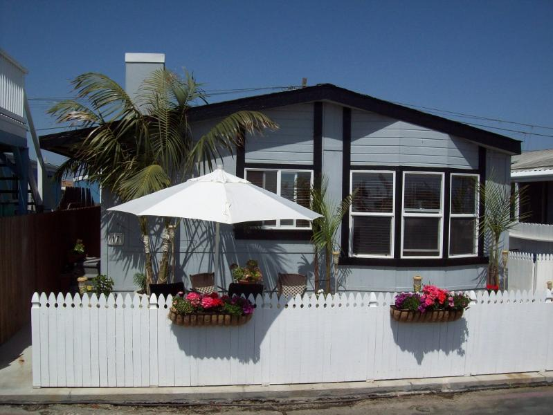 Outside of Bungalow with fenced patio/yard and BBQ - Summer Dates Available - August 7th - 20th!!! - Newport Beach - rentals